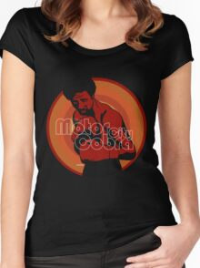 The Motor City Cobra Women's Fitted Scoop T-Shirt