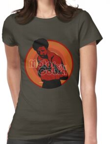 The Motor City Cobra Womens Fitted T-Shirt