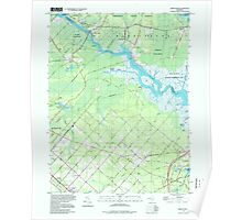 USGS TOPO Map New Jersey NJ Green Bank 254429 1997 24000 Poster