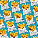 French Fries Pattern by Kelly  Gilleran