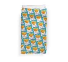 French Fries Pattern Duvet Cover