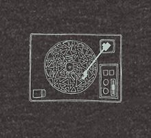 Record Player Drawing Unisex T-Shirt