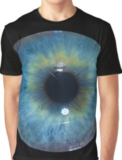 Eyeball - Blue & Green Graphic T-Shirt