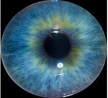 Eyeball - Blue & Green Photographic Print