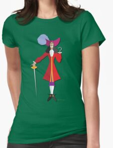 Captain Crook Womens Fitted T-Shirt