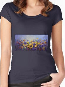Spring is in the air Women's Fitted Scoop T-Shirt