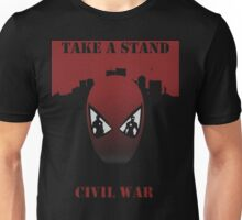 Take A Stand Civil War Unisex T-Shirt