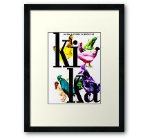 """Almodovar movies: """"Kika"""" Framed Print"""