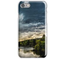 Angry Sky 02 iPhone Case/Skin