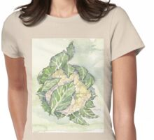 Delicious Cauliflower - Botanical Womens Fitted T-Shirt