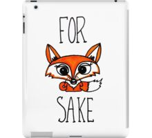 For Fox Saxe iPad Case/Skin