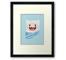 Finn the Happy Human Framed Print