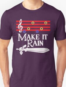 Make It Rain - Zelda Triforce Symbol T-Shirt