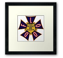 Flood by They Might Be Giants Framed Print