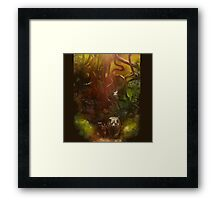 mowgli the leaders of the pack Framed Print