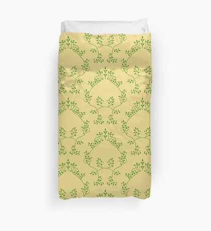 Abstract floral pattern Duvet Cover