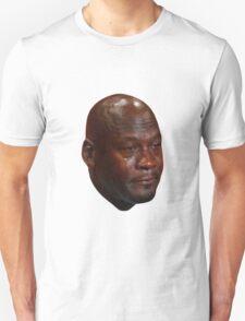 Crying Michael Jordan  Unisex T-Shirt