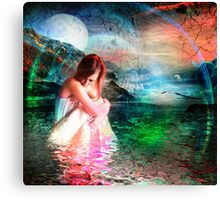 Ripples in the Pond of Long-forgotten Dreams Canvas Print