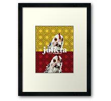 """Almodovar movies: """"Julieta"""" Framed Print"""
