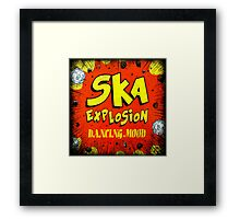 Ska Explosion Dancing Mood Framed Print