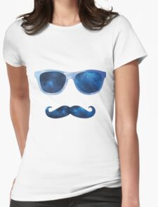 Mustache Womens Fitted T-Shirt