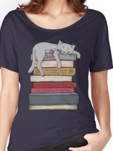How to Chill Like a Cat Women's Relaxed Fit T-Shirt