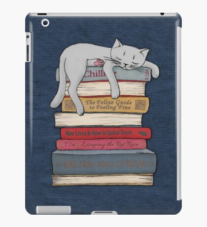 How to Chill Like a Cat iPad Case/Skin