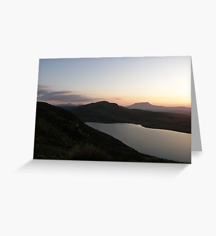 Muckish Mountain  -  Co. Donegal Ireland  Greeting Card