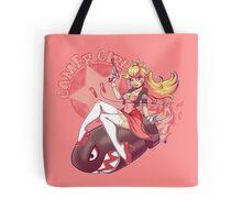 Gamer Girl Peach Tote Bag