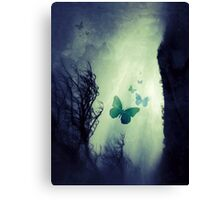 On The Wings of Chaos Canvas Print