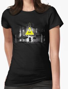 Gravity Falls Dipper Bill Cipher Womens Fitted T-Shirt