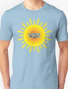 Sleepy Summer Sun Unisex T-Shirt