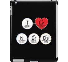 I Love Nerds iPad Case/Skin
