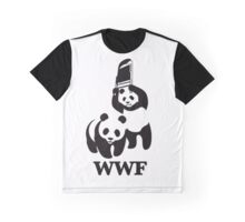 World Wide Fund for Panda Fighting  Graphic T-Shirt