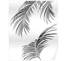 Palm print, Minimal plant print Poster