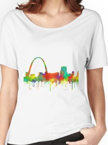 Gateway Arch, St Louis, Missouri Skyline - SG Women's Relaxed Fit T-Shirt
