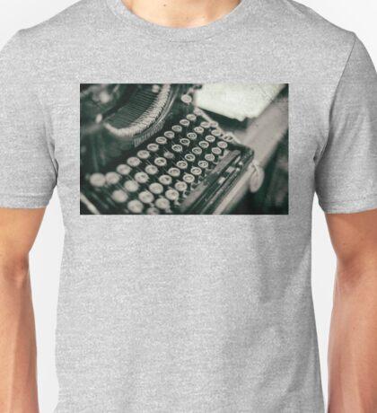 Vintage Typewriter - vers. 2 Unisex T-Shirt
