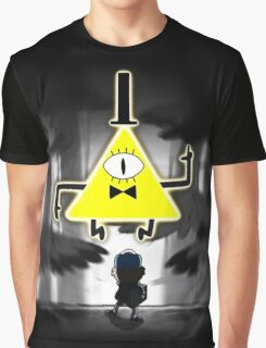 Gravity Falls Dipper Bill Cipher Graphic T-Shirt