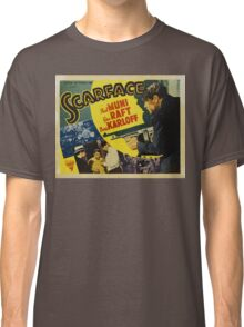 Gangster Movie - Scarface 1932 Classic T-Shirt
