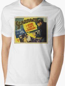 Gangster Movie - Scarface 1932 Mens V-Neck T-Shirt