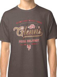 Glenn daryl thewalking dead pizza Classic T-Shirt