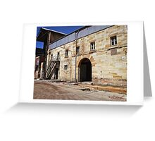 Excursion to Cockatoo Island in Sydney/NSW/Australia (14) Greeting Card