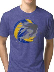 Sporty Haikyuu Bird (Volleyball) - Anime Tri-blend T-Shirt