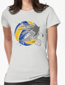 Sporty Haikyuu Bird (Volleyball) - Anime Womens Fitted T-Shirt