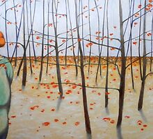winter woods by federico cortese
