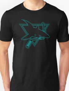 Opening Night Laser Light Shark Unisex T-Shirt