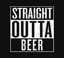 STRAIGHT OUTTA BEER T-Shirt Gift / Vintage Look Unisex T-Shirt