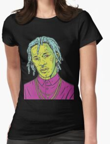 young thug art Womens Fitted T-Shirt