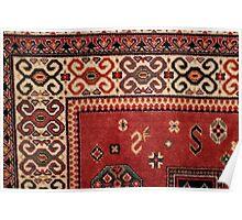 handmade Persian rug Poster
