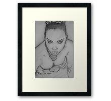 Jamaican Queen Framed Print